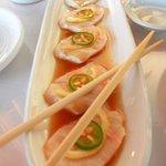 lemonfish sashimi
