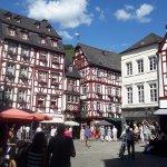 Market square in Bernkastel