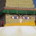 Boudhanath Stupa se refait une beauté!