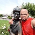 Charlie Chaplin Statue Foto