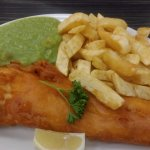 Large Cod meal