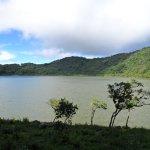 Vista de la Laguna de Ipala