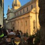 Amazing view od Sibenik cathedral