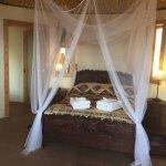 The Quezal Yurt, with en-suite bathroom  overlookingLake Atitlan and it's three volcanoes.