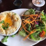 Fisherman's Pie and Salad