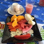 La salade fruits du petit-déjeuner