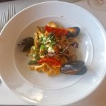 Tagiatelle with mussels