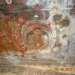 Paintings in the cave