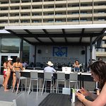 The Rooftop at Revere is a popular place with beautiful city view!  The food is great!  Great pl