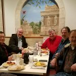 Men's Breakfast of the Asian American Couples Bible Study Group has breakfast together each mont