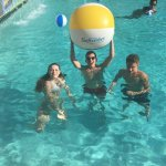 Good times in the pool
