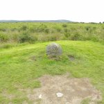 The head stone of the Fraser clan - well known for Outlander fans