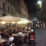 Corso Vannucci at night