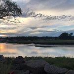 Sunset View over Marina