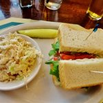 Chicken salad sandwich...yummy!