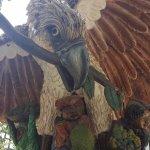 Big Eagle statue