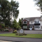 Welcome to the Hinton Guest House - Frontage & Car Park