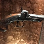 The gun that John Wilkes Booth used during the assassination. At least I think it's the original