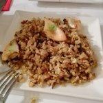 arroz salvatje con sepia