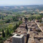 View from the tallest tower in San Gimignano