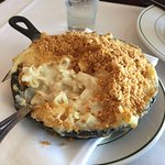 Truffle Mac & Cheese (topped with breadcrumbs)