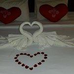 Tolle Dekoration zum Hochzeitstag