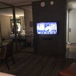 Room and hallway entance to the West Wing, floors 1-3 located between Crush bar and high roller