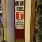 And a platform ticket for those wanting to say farewell.