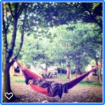 Lots of hammocks on site for sleepy relaxing