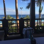 View from our table at the Lobos and some of the fab food