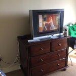 Television in 1 bedroom condo