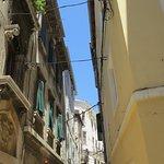 Winding streets of Split