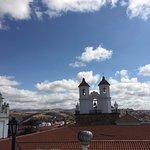 La vue sur les toits