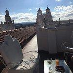 les petits espaces (salons de jardin) sur les toits