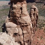 Rock spires at the end of Otto's Trail