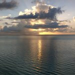 Sunrises were incredible