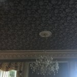 Bar/lounge area ceiling