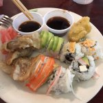 Sushi and Steamed Dumplings