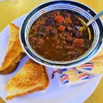 grilled cheese/chili