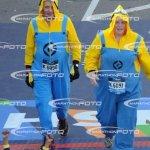 Mr & Mrs Gill in the Marathon 2016
