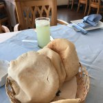 Fresh squeezed lemonade and fresh bread!