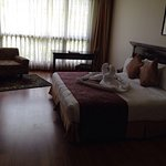 Great hotel, biggest 5 star at Pokhara. Rooms are great, spacious, restaurant serves good spread