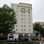 la façade du complexe hôtelier