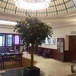 Reception area at Aberdeen Altens Hotel