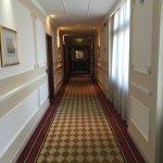 hotel has many maze like hallways