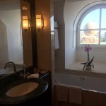 Top floor bathroom view