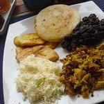 Los Roques breakfast