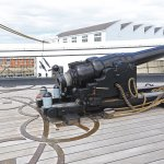 Breech loading 110 pond gun