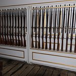 Muskets stored in large numbers