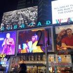 On Broadway ..